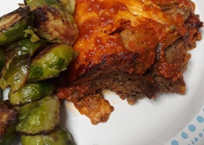 Recipe: Appetizing Eggplant and Meatball Lasagna