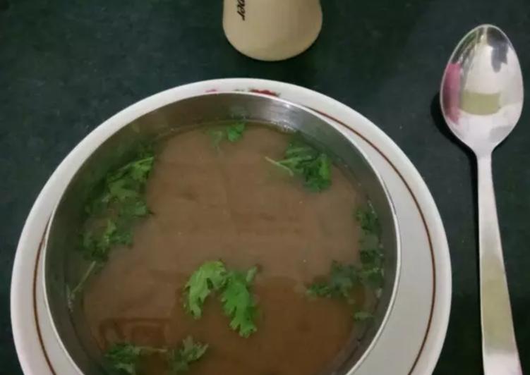 Instant horse gram soup