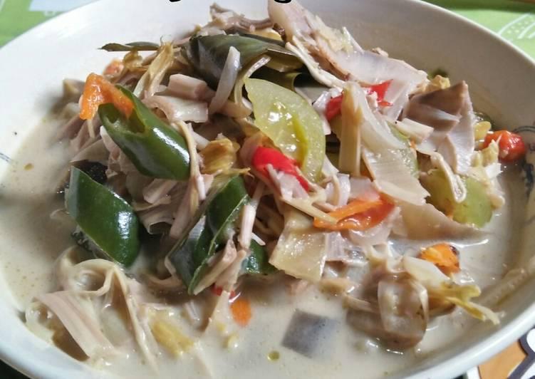 Resep Sayur Lodeh Jantung Pisang Oleh Ati Dewanthi Cookpad