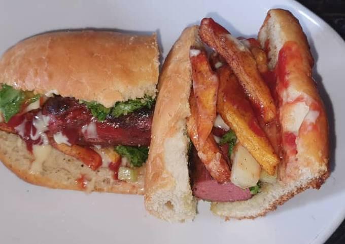 Ellen's take on a Hot Dog Recipe
