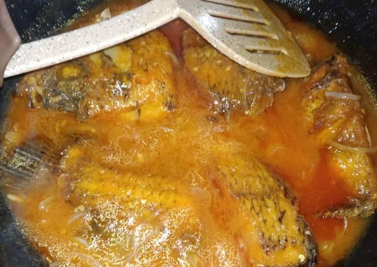 Gurame asam manis pedas (padang) - cookandrecipe.com