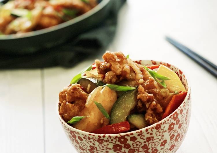 Sweet and Sour Chicken – Serious Eat Cookbooks