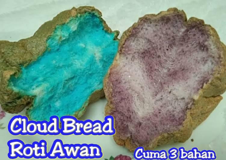 CLOUD BREAD/Roti Awan selembut Kapas