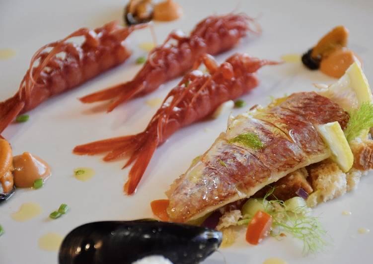 Ricetta Cacciucco su panzanella Toscana 🦐🍞