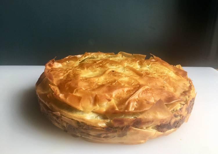 Recipe of Ultimate Spinach & Feta Filo Pie (Zelyanitsa)