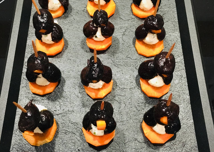 Recettes Brochette apéritive Pingouin