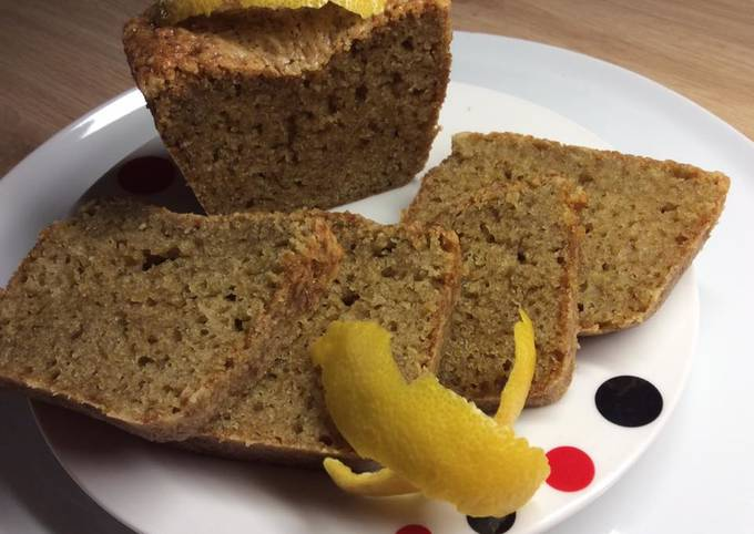 Cake au Citron et à l'huile d'olive