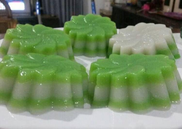 Kue Lapis Tepung Beras - cookandrecipe.com