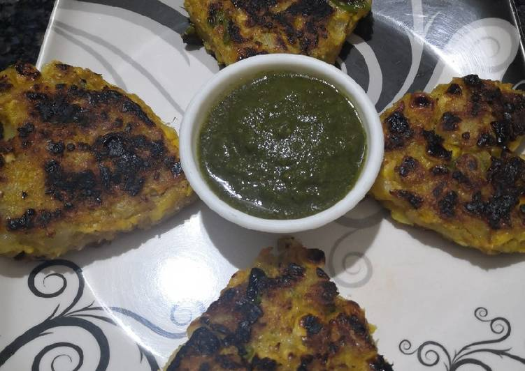 Easiest Way to Make Perfect Corn pattice
