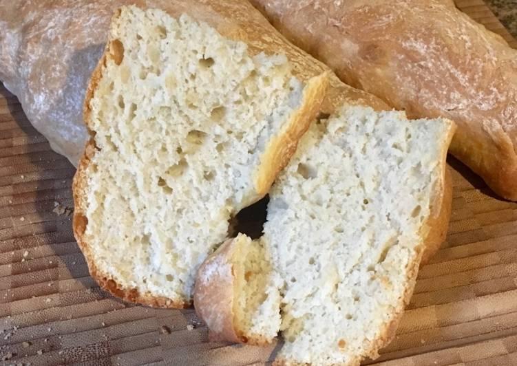 Panadería: Pane sciapo (sin sal)