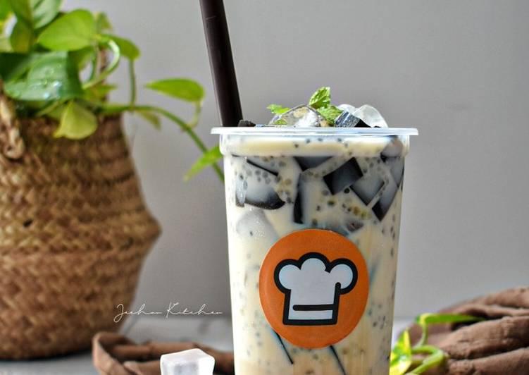 Cha Bang Ang (Minuman Viral) - resepipouler.com