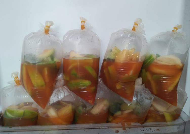 Asinan buah-buahan 🍍
