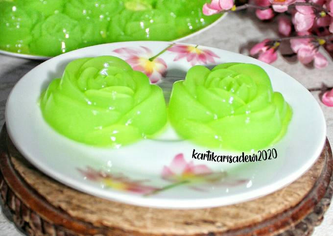 58. Puding Melon Nyess