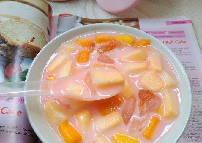 Resep Sup Buah Mangga Timun Suri Oleh Hadleny Kitchen Cookpad