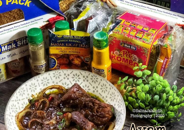 Ayam Masak Kicap Mak Siti - velavinkabakery.com