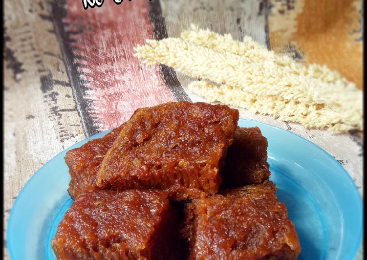 Kue Karamel Sarang Semut (No Oven No Mixer) - cookandrecipe.com