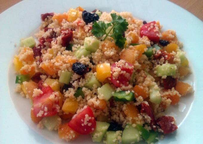 Vickys Rainbow Cous Cous, GF DF EF SF NF