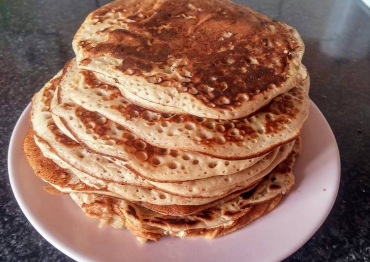 Simple  Pancakes (vegan)