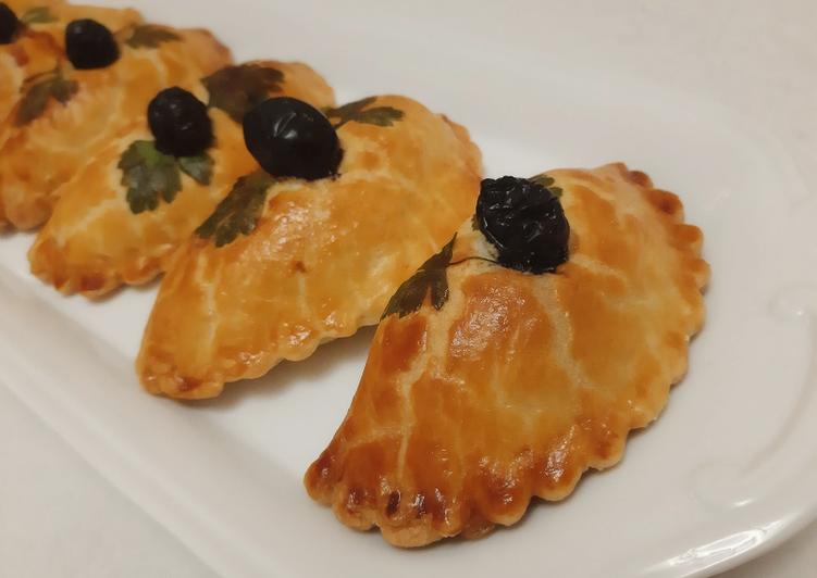 Recette Savoureux Chaussons épinards fromage 🍴