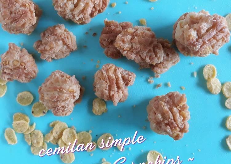 Cemilan simple ~ Kue Garpu Cornchips ~