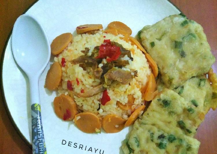 Resep Nasi Goreng Cikur dan Tempe Paling Gampang