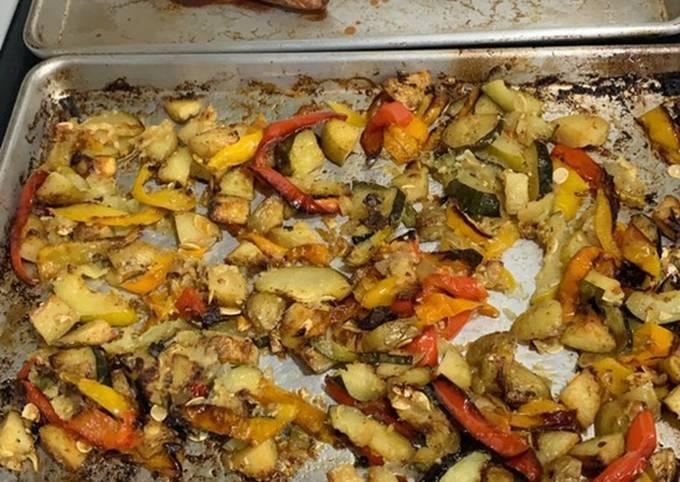 Carmelized roasted veggies