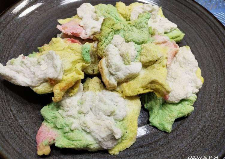 Cloud bread yang lagi viral di tik tok tanpa oven dan mixer