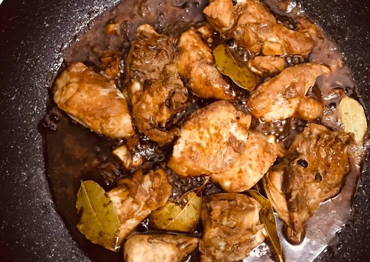Recipe: Appetizing Chicken adobo