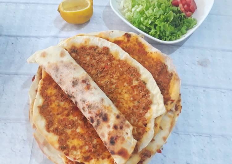 Lahmacun, si Pizza Turki