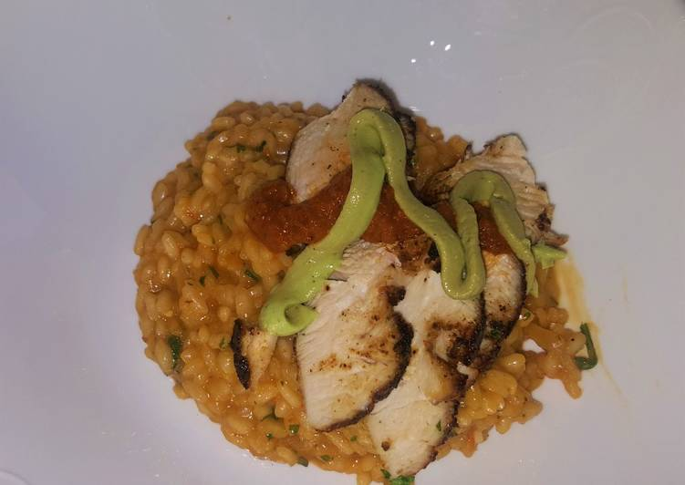 Chipotle Risotto
