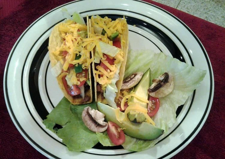 Buffalo Taco w/ Avocado