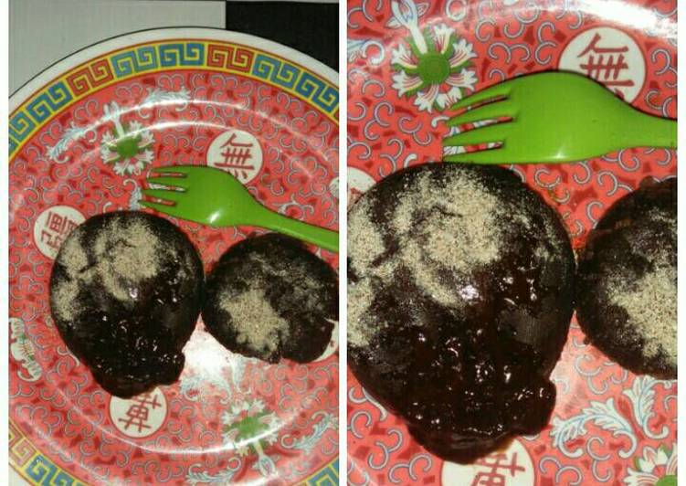 Choco lava cake lumer (Kukus simple)