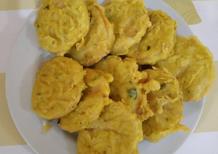 Tempe gembos goreng tepung (super renyah)