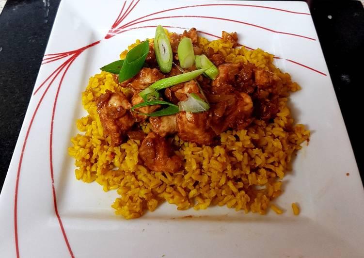 Minch Waala Murgh/ Indian Chilli Chicken. 😙