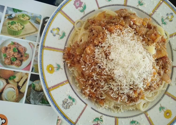Resep Spaghetti Bolognese Bikin Laper