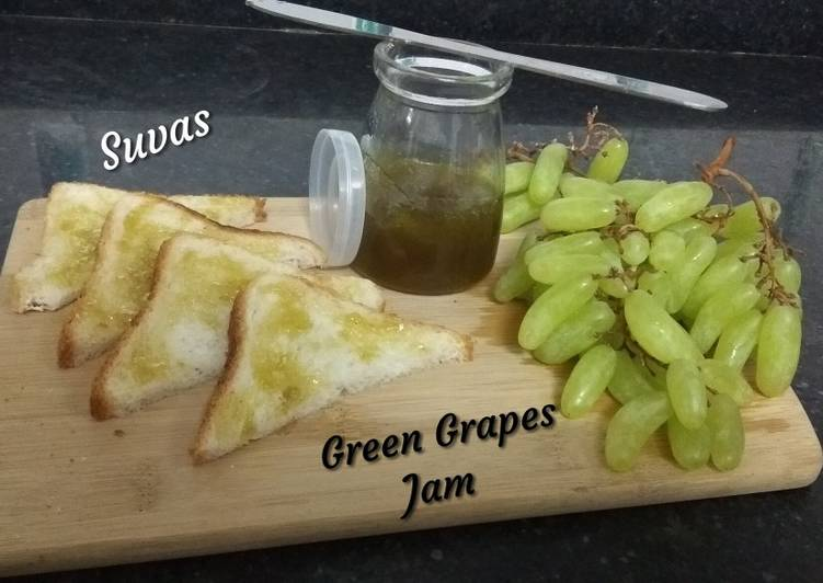 How to Make Perfect Green Grapes Jam