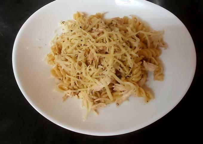 My BBQ Chicken Pasta 😉#maimmeal