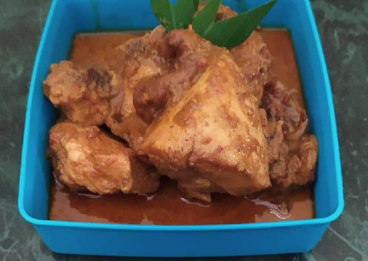 Rendang Daging Ayam Praktis
