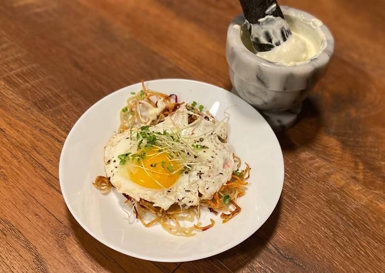 Egg Nest with Magic Sauce