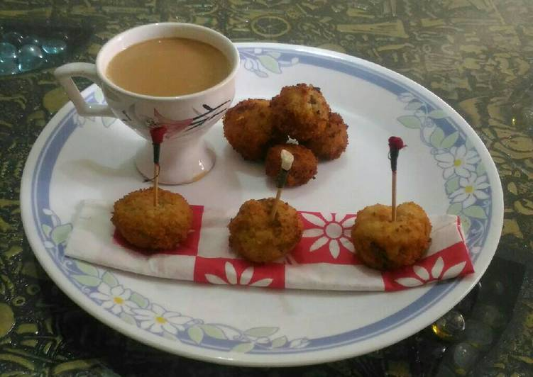 How to Cook Delicious Stuffed mushroom snacks #monsoon