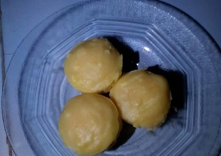 resep membuat Bolu kukus kentang ala cheff sarah - Sajian Dapur Bunda
