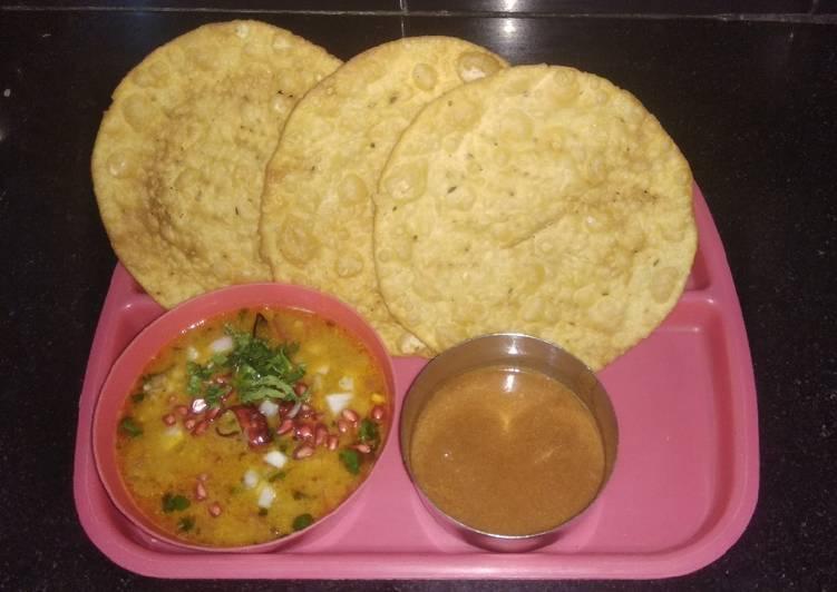 Steps to Prepare Favorite Dal Pakwan