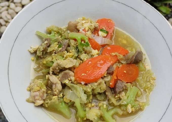 17. Capcay Goreng Ayam