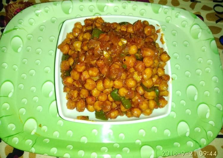 Recipe of Ultimate Chana chilli recipe
