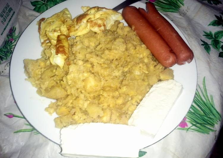 Easiest Way to Prepare Perfect Dominican Mangu