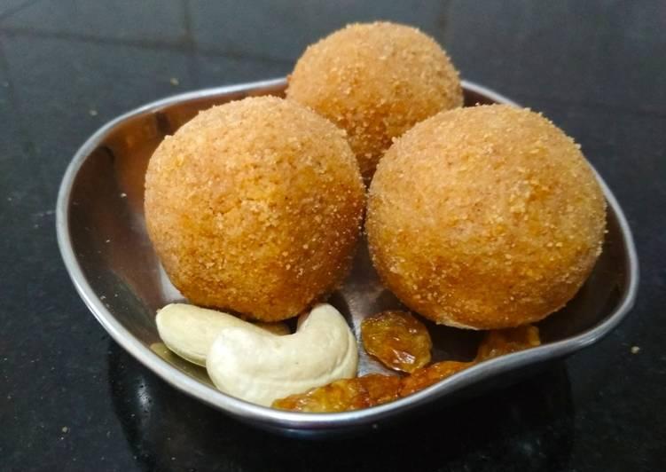 Recipe of Quick Shengoli Laddu