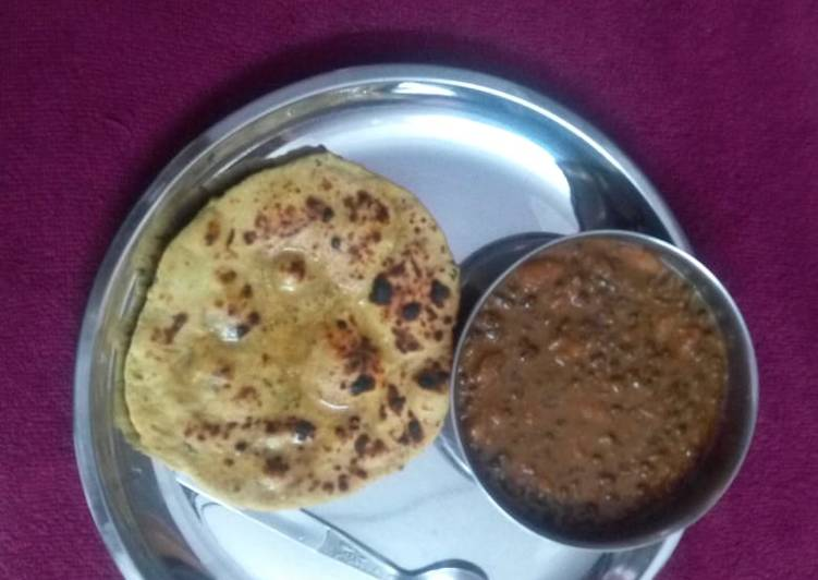The Best Soft and Chewy Dinner Ideas Quick Dal Makhni and Missi Roti