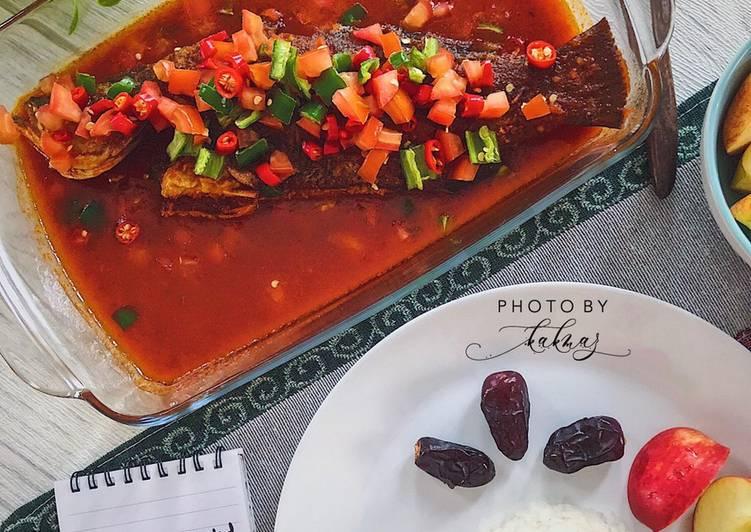 Siakap 3 Rasa #PhopBylinimohd #menuberbuka  Antara menu iftar yang wajib kita cuba