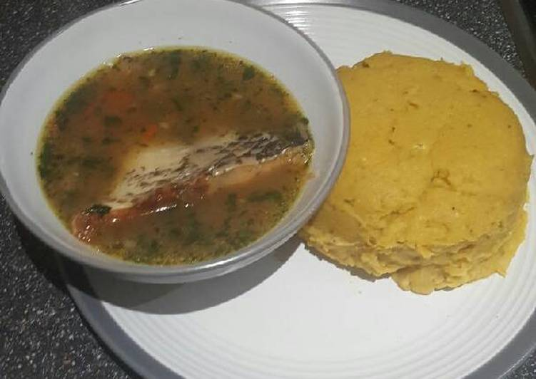 How 10 Things Will Change The Way You Approach Pounded plantain(Onunu) with Tilapia pepper soup