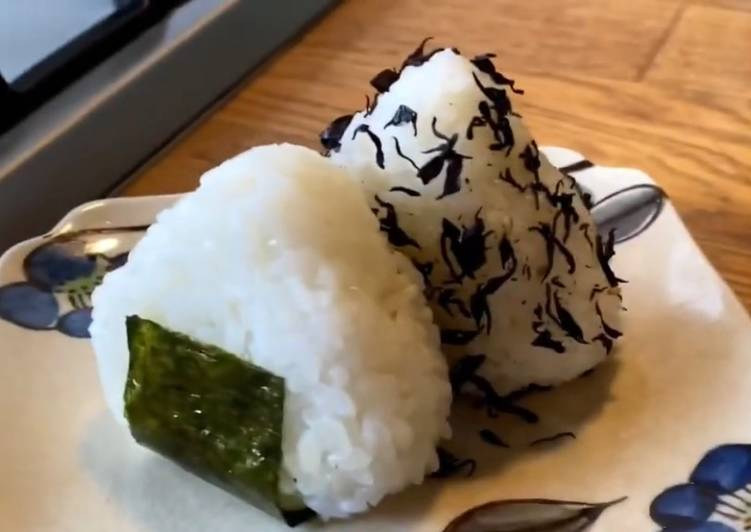 Easiest Way to Cook Yummy Onigiri Rice Balls